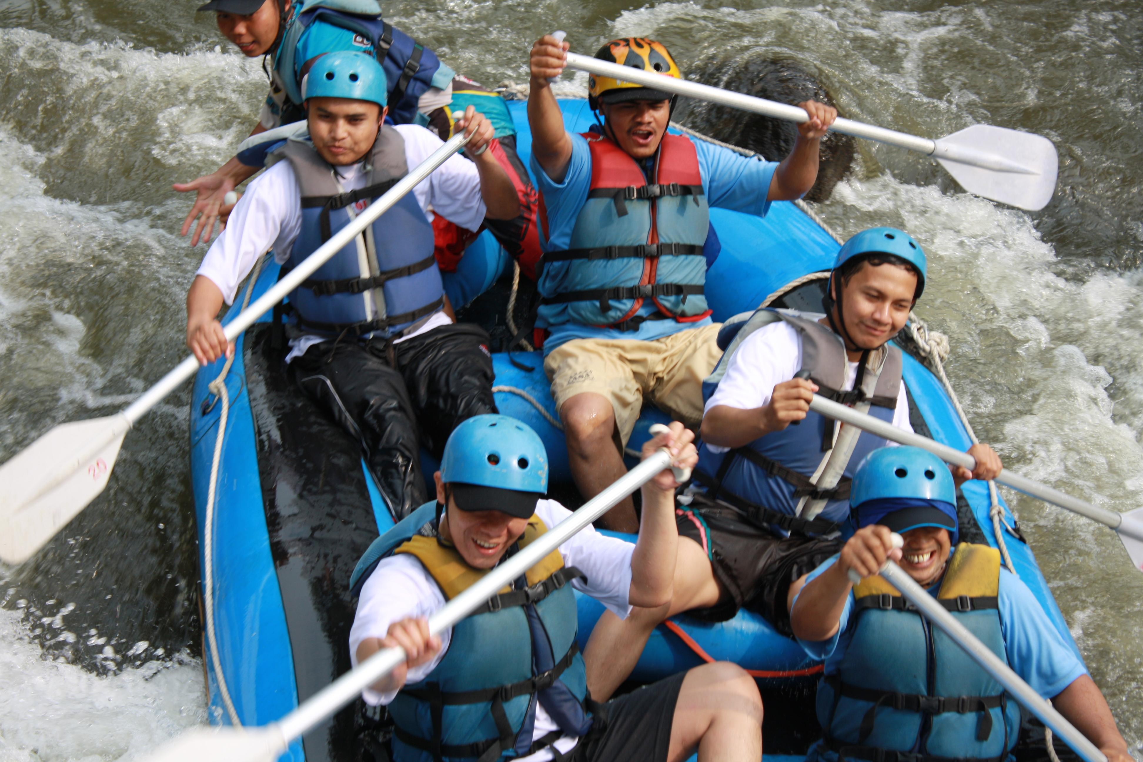 Rafting..Seru di Kasembon Rafting