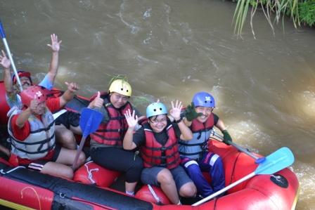 Yang Sehat yang Dicari-Kasembon Rafting