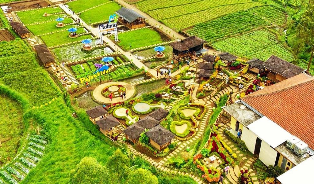 Berkunjung Wisata Pujon Kidul Yang Instagramable