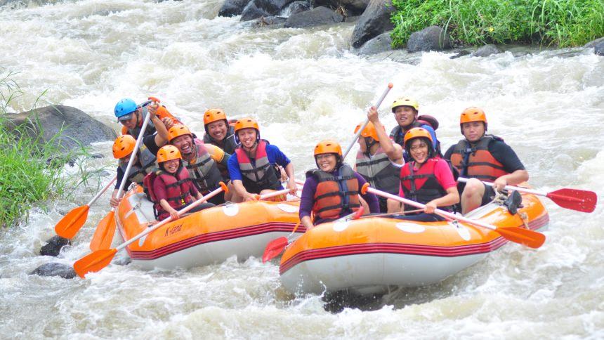 Rafting di Kasembon Rafting